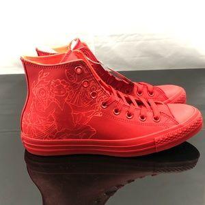 Converse All Star Chuck Taylor Red Hi Top
